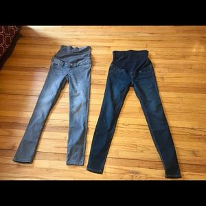 2 new maternity pants size 6